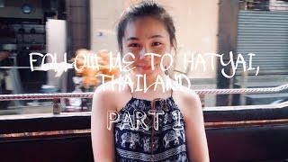 Vlog: Follow Me To Hatyai, Thailand - Part 1 #vinnietravel