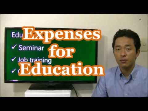 #026 Expenses for Education - Tax saving in Japan - Business in Tokyo