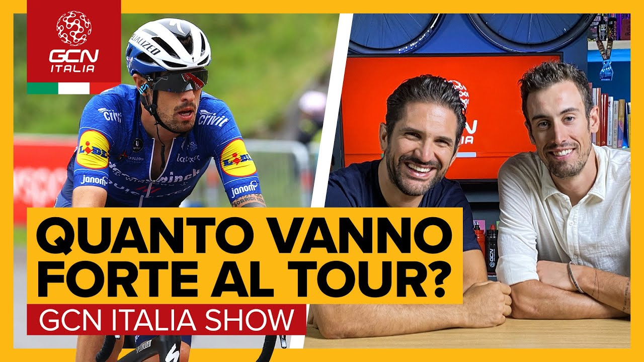 Intervista speciale post Tour a Mattia Cattaneo | GCN Italia Show 133