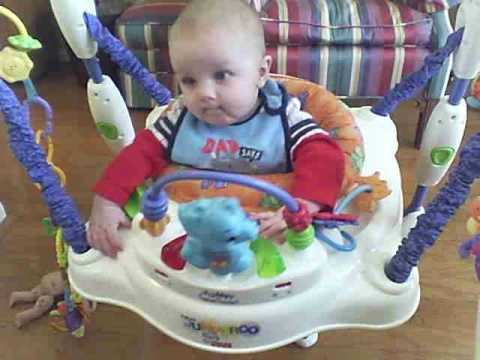 Grady in the Bouncer - January 2011