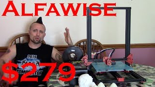 Alfawise U20 Updated Review and Firmware update.  Best 3D printer under $300