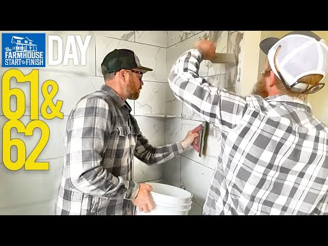Building The Farmhouse | Day 61-62 - Perkins Builder Brothers