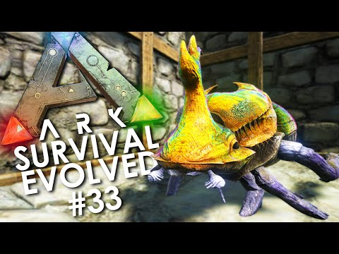 ARK: Survival Evolved - Episode 33 | TAMING a DUNG BEETLE