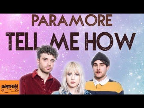 Paramore - Tell Me How (Karaoke/Instrumental)