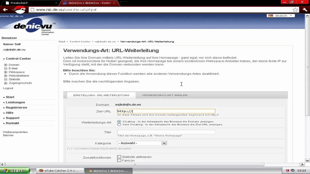 Strato Domain ändern tut domain ändern german hd