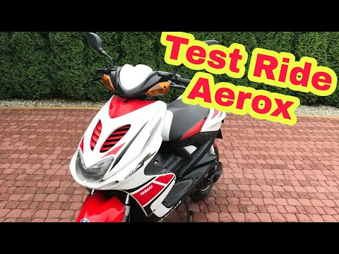 Test Ride : Yamaha AeroxR 49cc + bonus