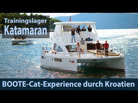 Mit Dem Katamaran Durch Kroatien