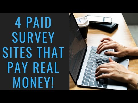 Top 4 Paid Survey Sites That Actually Pay! | Earn Extra Money Online With Legit Paying Surveys