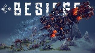 Besiege Alpha Gameplay - Best Besiege Creations! - Water & Steam Powered Vehicles !