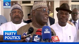 Atiku Reconciles With Governor Wike Ahead Of 2023 Election