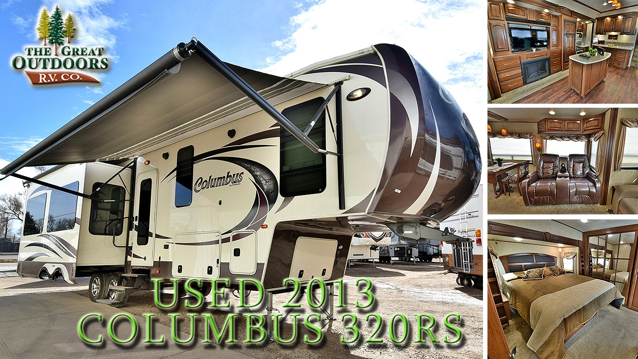 USED 2013 PALOMINO COLUMBUS 320RS FIFTH WHEELS Colorado Dealer