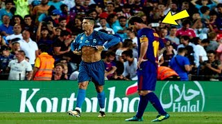Look what Cristiano Ronaldo did last time he faced Barcelona & Lionel Messi at Camp Nou !