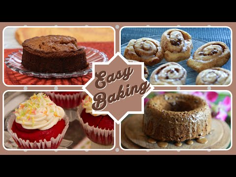 Easy Baking | Easy To Make Cake  And Cupcake Recipes