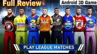 3d Cricket Game For Android | T20 Cricket Champions 3D New Update And Game Full Review screenshot 2