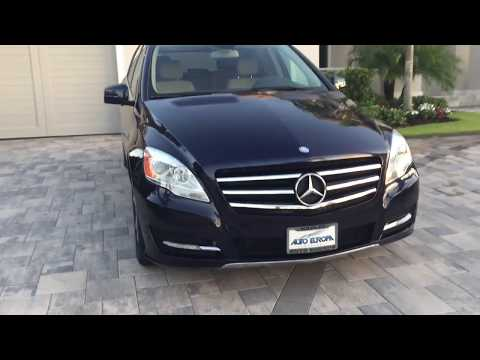 2012 Mercedes Benz R350 4Matic Review and Test Drive by Bill - Auto Europa Naples