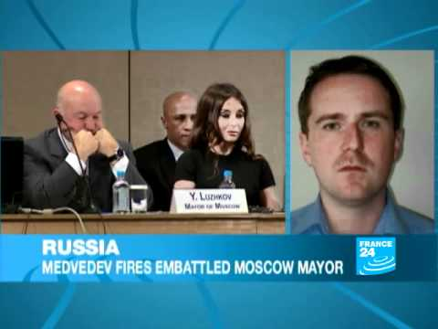 RUSSIA : Medvedev fires embattled mayor of Moscow