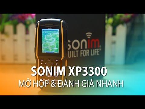 Mở hộp Sonim XP3300: Chịu lực 1 tấn, bất chấp thời tiết