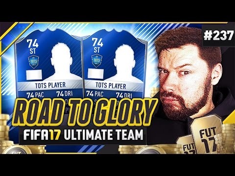 SILVER TOTS CARDS?! - #FIFA17 Road to Glory! #237 Ultimate Team