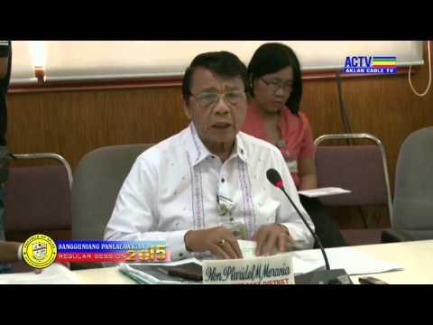 40th Sangguniang Panlalawigan Regular Session 2015