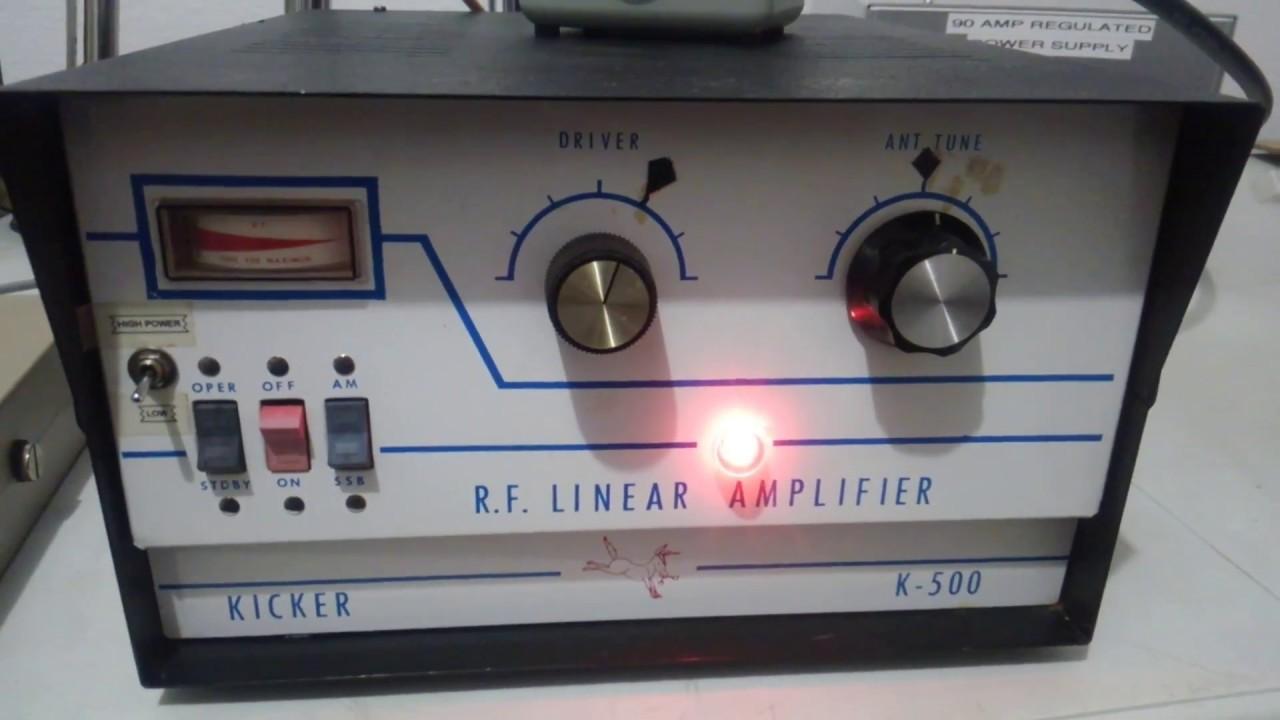 Kicker 500 base linear Amplifier