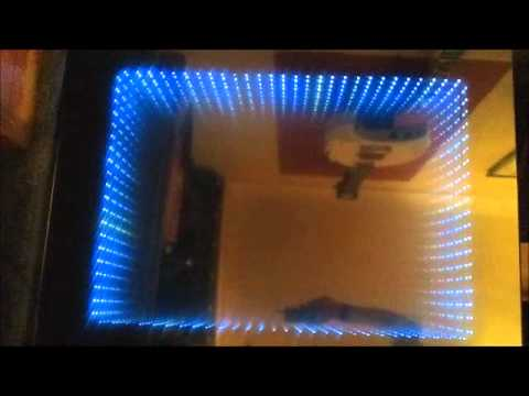 Infinity Mirror Table Illusion Youtube
