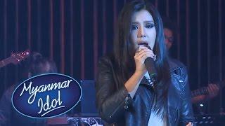 May Nin Si Myanmar Idol Season 1 Performance | FINAL TOP 7 | Myanmar Idol 2016