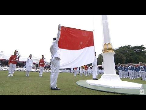 Puncak Upacara Peringatan Proklamasi Kemerdekaan RI ke-72