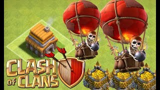 TH5 CRAZY BALLOON ATTACKS - Clash Without Collectors Episode 49 Clash of Clans TH5 Let's Play
