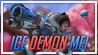 [Overwatch] Ice Demon Mei (with some Hanzo)
