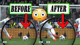 CRISTIANO RONALDO PENALTY [BAFFLES VIEWERS] AS BALL MYSTERIOUSLY MOVES ON SPOT!!