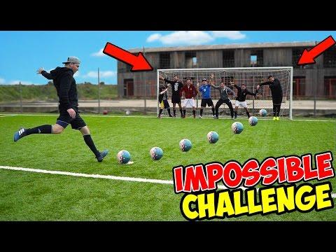 IMPOSSIBLE FOOTBALL CHALLENGE w/ IlluminatiCrew