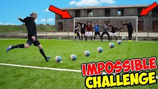 IMPOSSIBLE FOOTBALL CHALLENGE w/ IlluminatiCrew