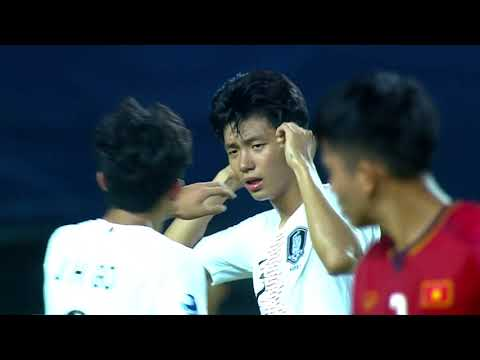 Vietnam 1-3 South Korea (AFC U19 Indonesia 2018 : Group Stage)