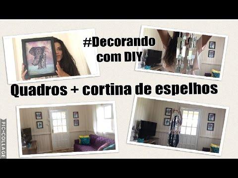 Diário da reforma #SALA DE TV - decorando com DIY