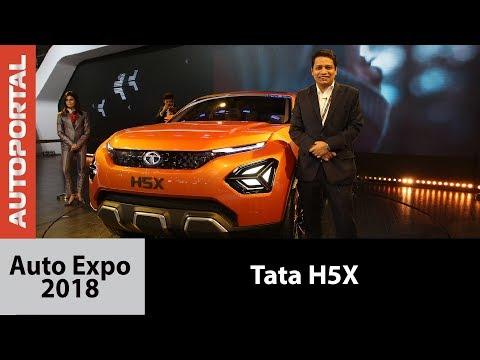 Tata H5X at Auto Expo - Autoportal