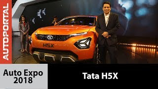 Tata H5X at Auto Expo - Autoportal
