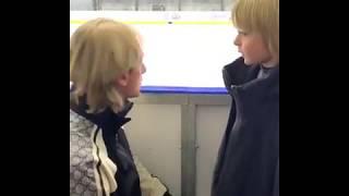 Евгений Плющенко с сыном контрольные прокаты 10 10 2019 Академия Плющенко