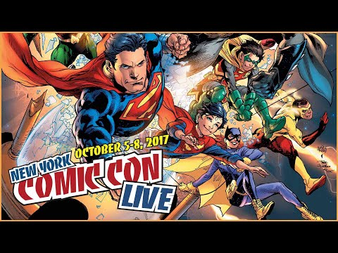 NYCC Live: Doomsday Clock with Geoff Johns!