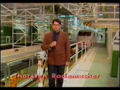 DB Magazin 1991  --  Beginn des ICE Zeitalters