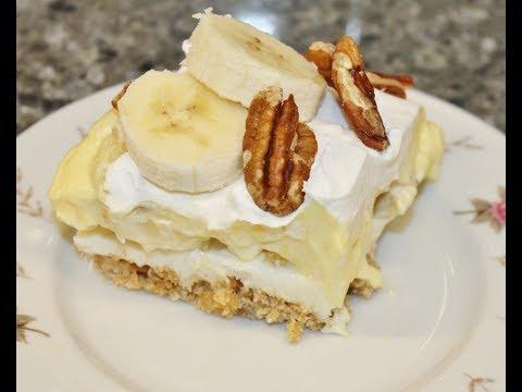 Making A Banana Split Cake – Recipe