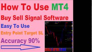 How to use MT4 buy sell signal software MCX NSE Forex 90% Accurate Signals in hindi
