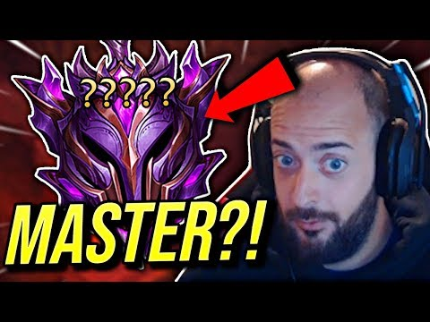 THE GRIND BACK TO MASTER!!! WILL I MAKE IT?! - Road To Challenger | League of Legends