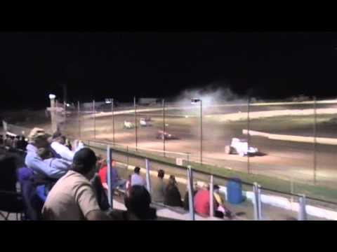 Bernie Smith Crash Prescott Valley Raceway 7 3 10