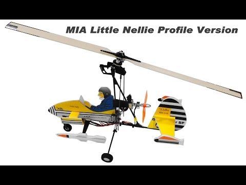 RC Autogyro - Little Nellie - James Bond 007 - Micro-Ultralight Model