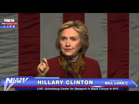 FULL - Hillary Clinton Speaks at Schomburg Center for Research in Black Culture in New York