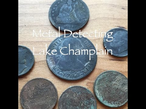 Metal Detecting Lake Champlain with Green Mountain Diggers Episode 46