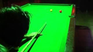Snooker - Three Balls Plant - Pool Table