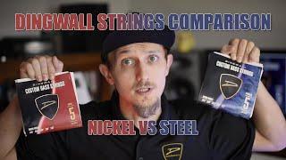 Stainless Steel vs Nickel Strings comparison