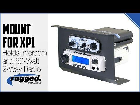 Rugged Radios : New Radio and Intercom Mount for Polaris RZR XP1