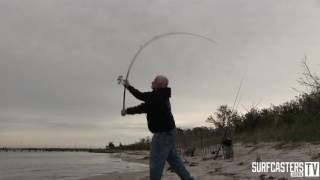 odm rods with surfcaster s journal lou caruso